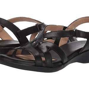 NEW Naturalizer Neo Leather Wedge Sandal